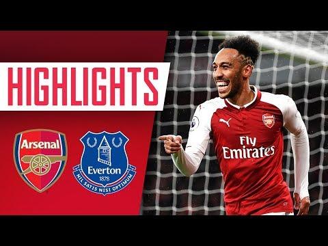 Aubameyang, Mkhitaryan & Ramsey on fire! | Arsenal 5 - 1 Everton