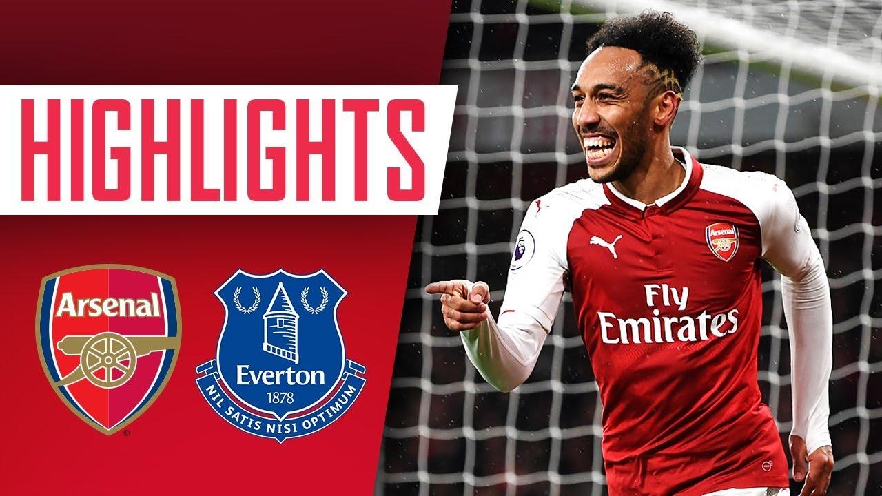 Aubameyang, Mkhitaryan & Ramsey on fire! | Arsenal 5-1 Everton | Goals &  highlights - YouTube
