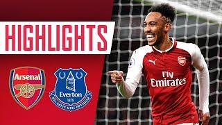 Aubameyang, Mkhitaryan & Ramsey on fire! | Arsenal 5 - 1 Everton