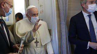 Папа римский Франциск совершает апостольский визит в Ирак …