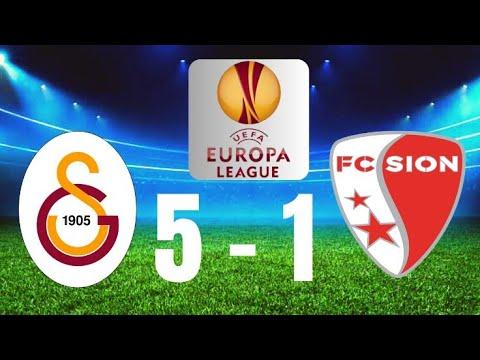 Galatasaray 5-1 FC Sion ''Nostalji''  4.10.2007 Uefa Kupası Full Match