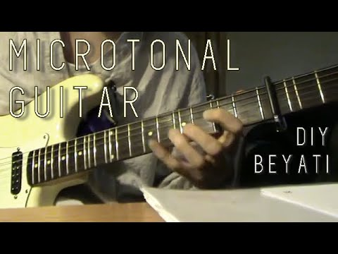 Quarter Tone Guitar : quarter tone frets on guitar turkish arabic style youtube ~ Vivirlamusica.com Haus und Dekorationen