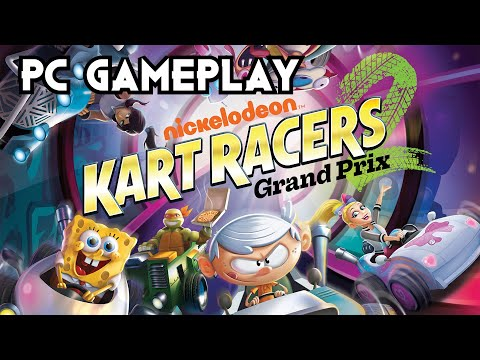 Nickelodeon Kart Racers 2: Grand Prix | PC Gameplay |