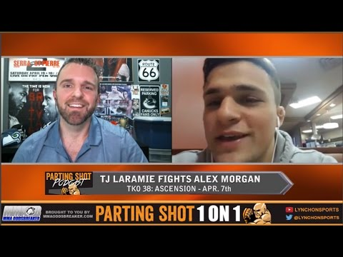 tko-38's-tj-laramie-talks-alex-morgan-matchup,-training-at-team-alpha-male-&-family-guy