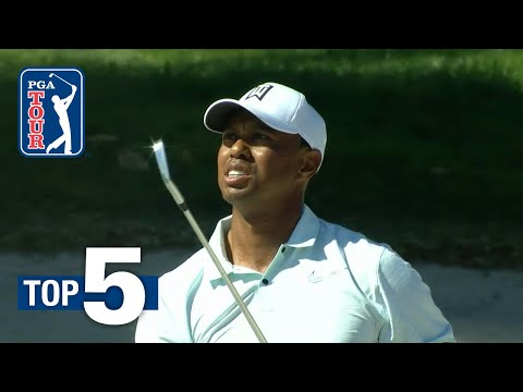 Tiger Woods' top 5 shots of 2017-18 season