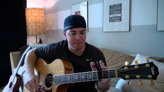 """Carolina"" Beginner Guitar Lesson (Parmalee)"