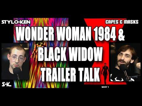 Capes & Masks - Wonder Woman 1984 & Black Widow Trailer Discussion