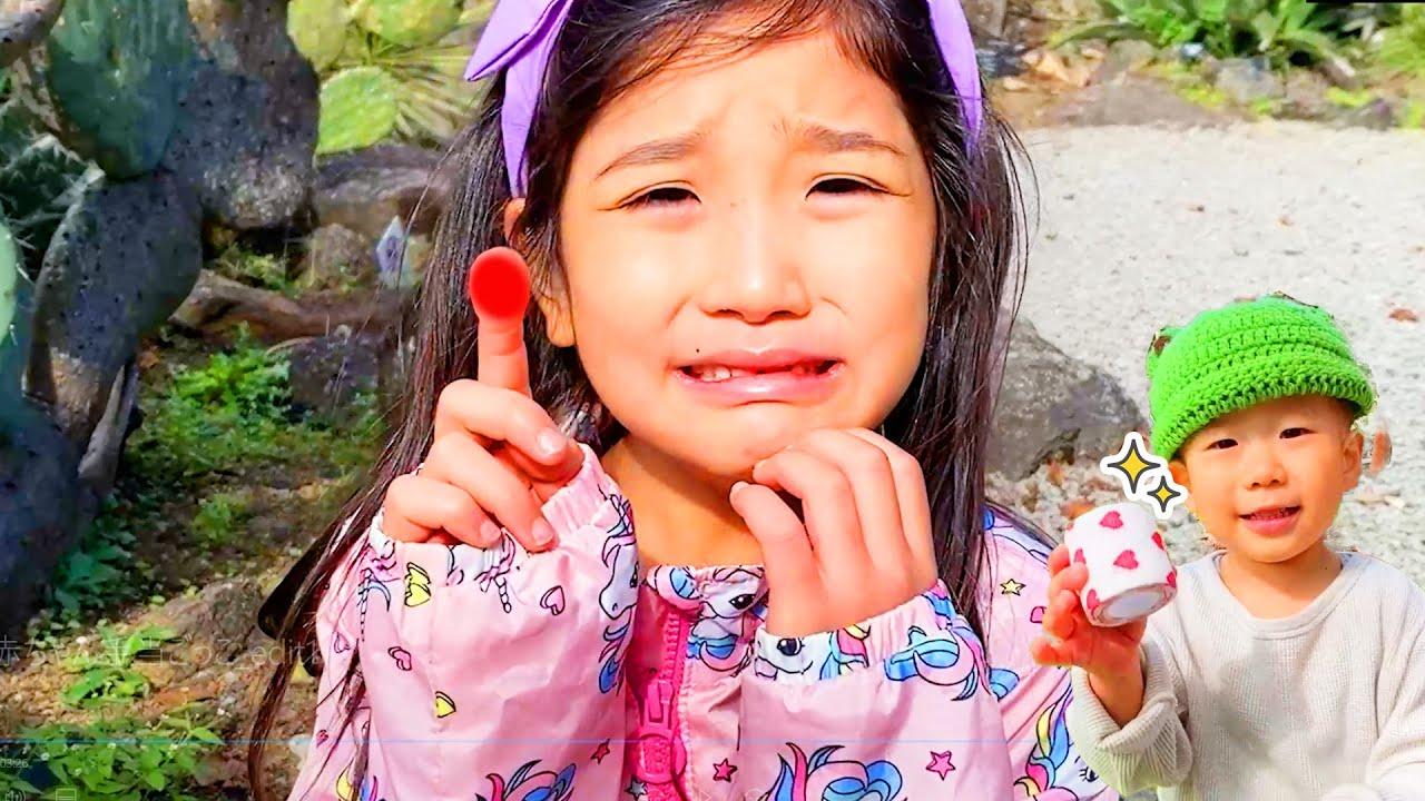 The Boo Boo Song 赤ちゃんと手当ごっこ!赤ちゃん包帯まいて!動物園と公園で楽しく遊ぼう