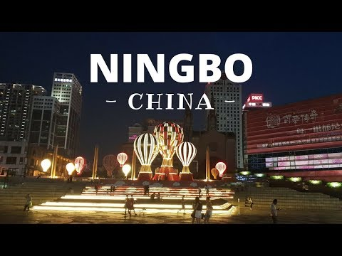 The City of NINGBO & Lake HANGZHOU - China - Travel Video
