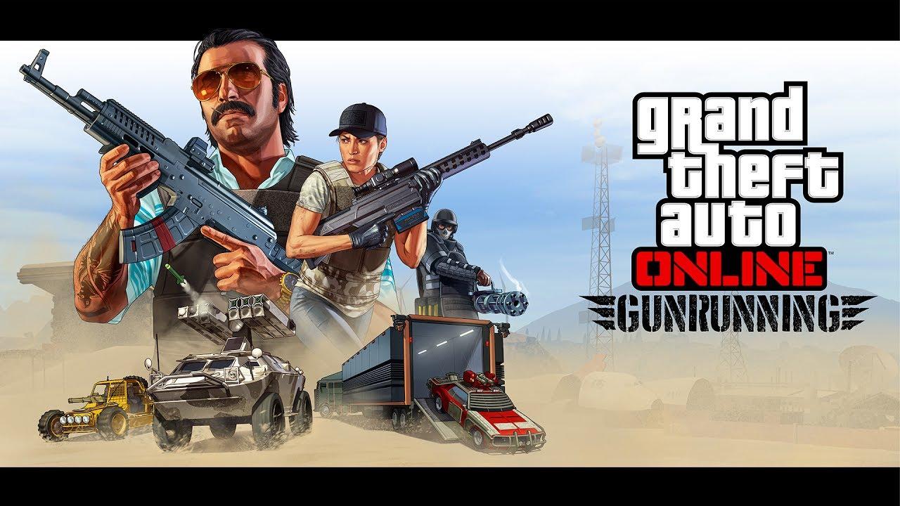 Gta Online Gunrunning Trailer Rockstar Games