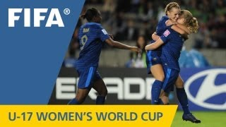 France make history in shoot-out