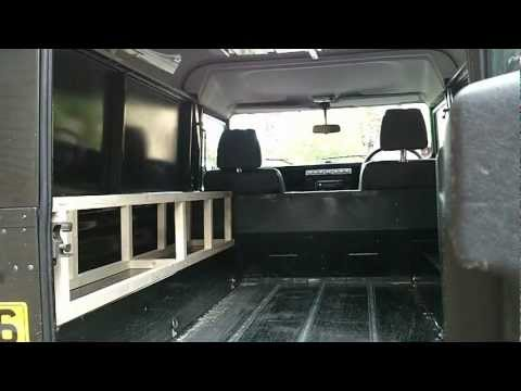 Landrover conversion, fit-out, to Campervan