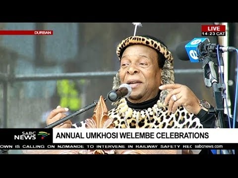 Umkhosi weLembe celebrations, Moses Mabhida stadium: 7 Oct 18