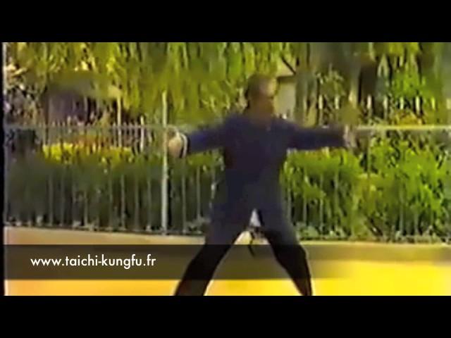 Vidéo Ancienne 5/12 - Tai Chi style Chen Xiaojia Yilu par Chen Bo Xian (66 ans)