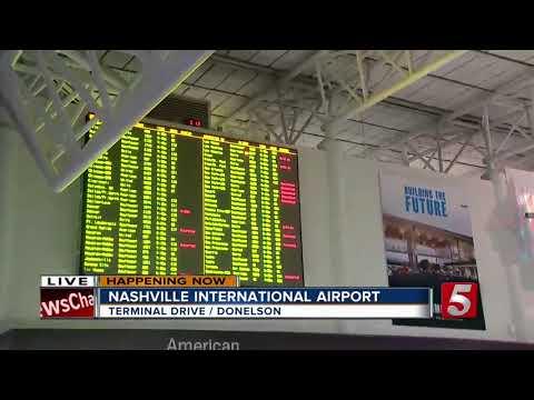 Nor'easter Cancels Flights At Nashville Airport