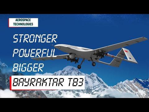 Stronger Bigger Bayraktar TB3 Announced