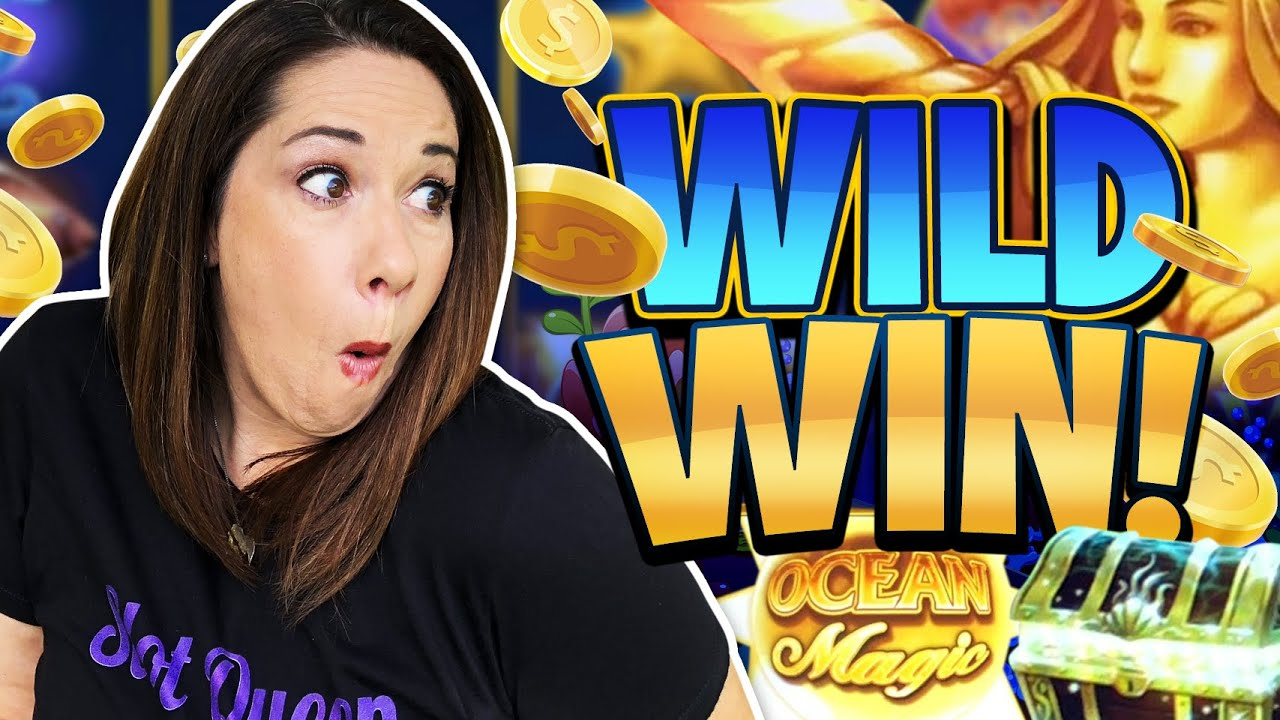 """WILD WIN !! SHE  """"TOOTED""""  IN THE CASINO FOR A BIG WIN !!"""