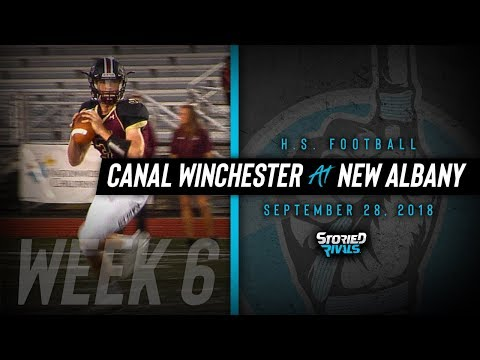 HS Football | Canal Winchester at New Albany [9/28/18]