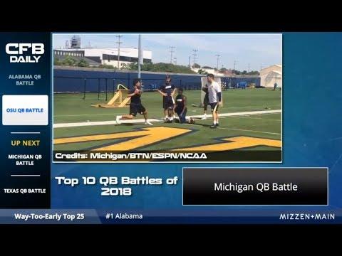 2018 Michigan Football QB Battle: Analyzing Shea Patterson, Brandon Peters And Dylan McCaffrey