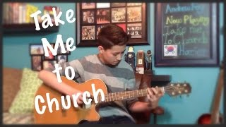 Take Me To Church- Hozier - Fingerstyle Guitar Cover