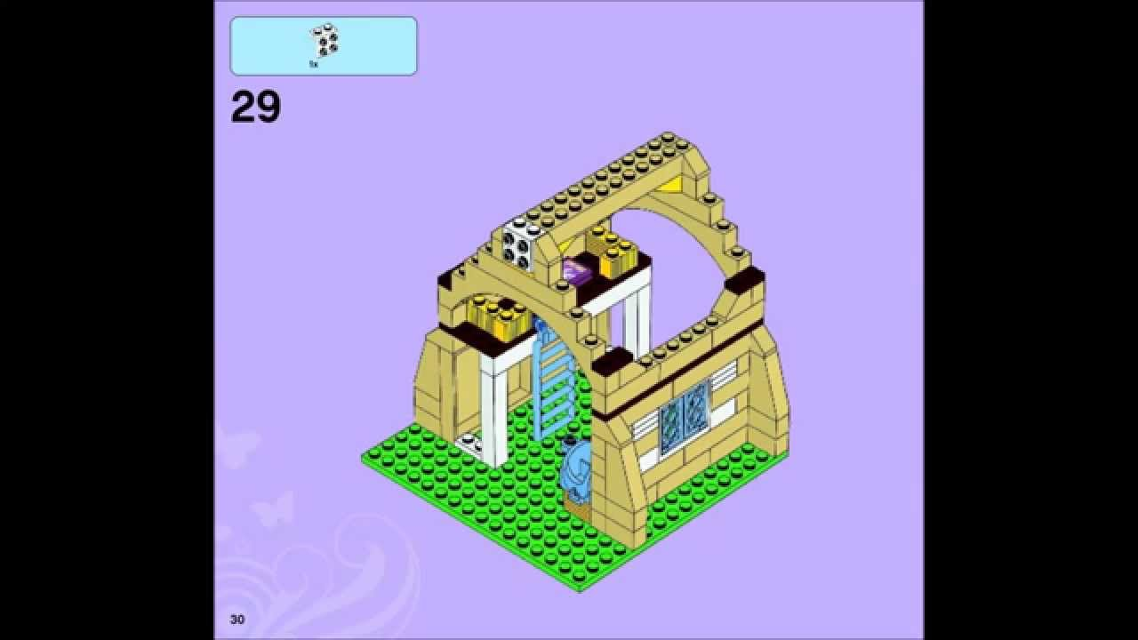 Lego Friends 3189 Heartlake Stables Building Instructions Youtube