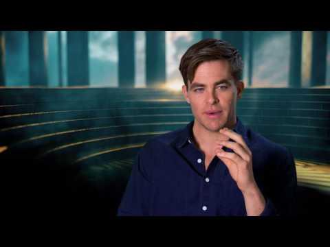 "Wonder Woman: Chris Pine ""Steve Trevor"" Behind the Scenes Movie Interview"