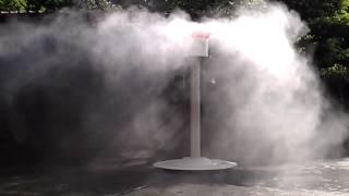雲海造景~噴霧機.造霧機.300坪廠房.100坪開放空間.~降溫~降溫~降到27度