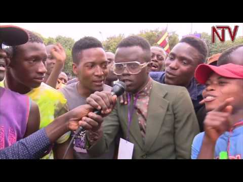 From the ghetto to Parliament: Security tightened  as  Bobi Wine's supporters throng  parliament