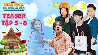 """Gia đình là số 1 Phần 2 teaser tập 5-8:Diệu Nhi, Phát La """"sốt vó"""" đi tìm bé Hà bị đi lạc cùng Gia My"""