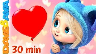 ❣️Happy Valentine's Day | Skidamarink +More Nursery Rhymes and Baby Songs by Dave and Ava❣️