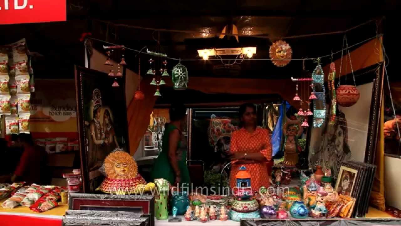 Dilli Haat The Most Prominent Craft Markets In Delhi Youtube