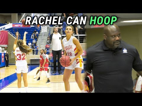 Rachel DeMita CAN'T MISS In Celebrity Game! Shaq Coaches Vs Magic Johnson! FULL HIGHLIGHTS 🔥