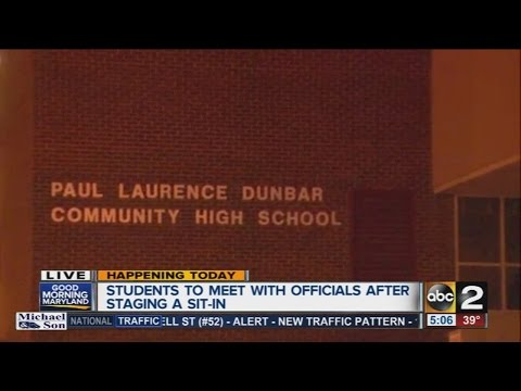 Paul Laurence Dunbar High School Students