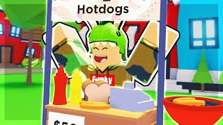 SELLING THE BEST HOT DOGS IN TOWN!! Adopt Me | ROBLOX