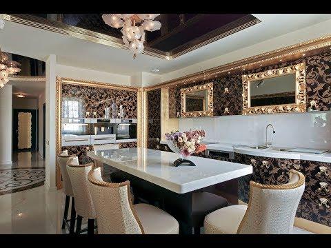 Стиль арт-деко в интерьере кухни (фото подборка)