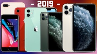 Breaking Down the Entire 2019 iPhone Lineup
