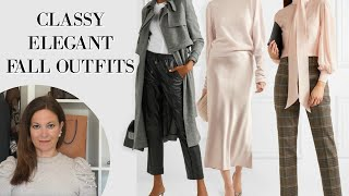 Classy Fall Autumn Outfit Ideas 2019 | Fashion Over 40