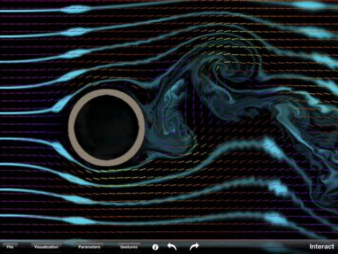 Fluid Kinematics: Streamlines. Definitions, Simulations And Worked Example