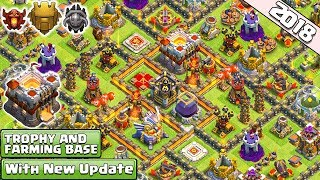 NEW! Town Hall 11 Trophy/Farming Base 2018 | CoC Best Th11 Base Layout Titan Legend - Clash of Clans
