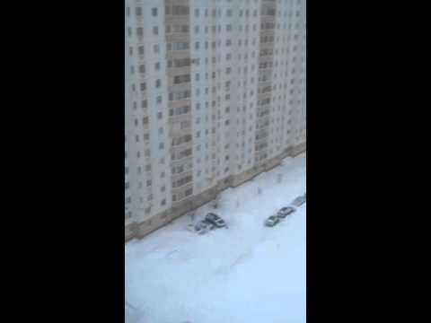 winter in Kursk, Russia (2016)