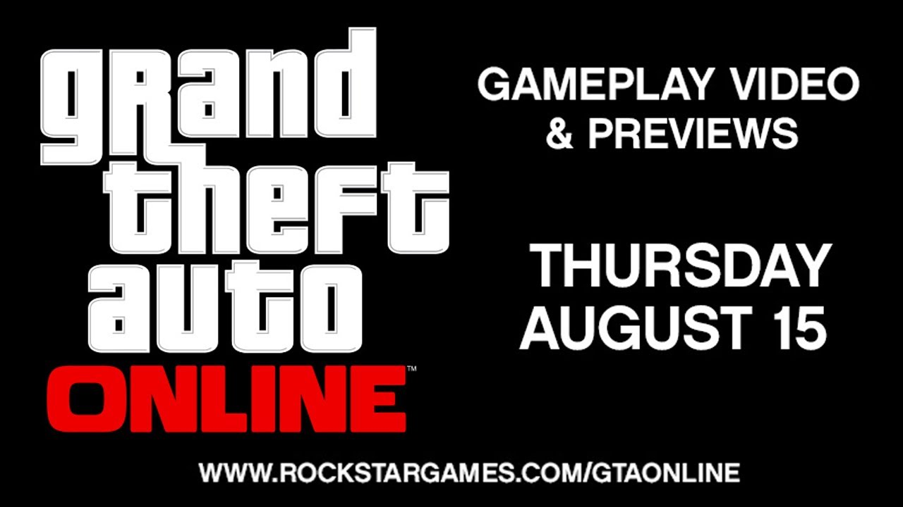 GTA V - GTA Online Gameplay Video + Worldwide Previews This Thursday ...