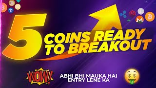 5 coins ready for breakout | best cryptocurrency to invest 2021 | which crypto coin to buy now