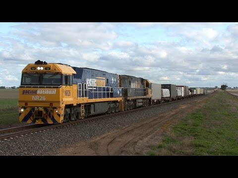 Freight Trains in the Wimmera: Australian Trains