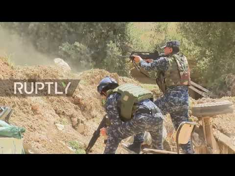 Iraq: Security forces fend off Islamic State fighters from Mosul frontline