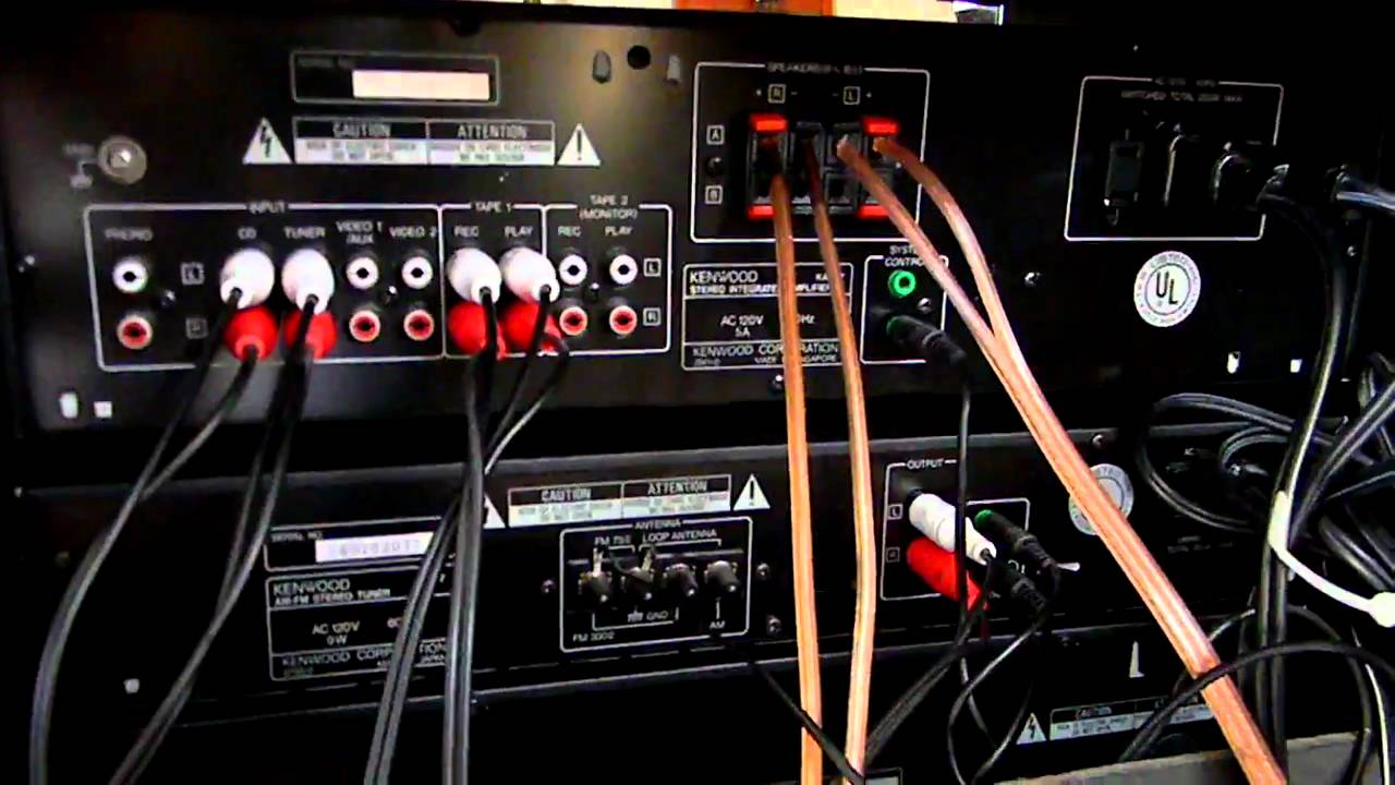 Home Theater Wiring Diagram 1965 Vw Bus Kenwood System - Youtube