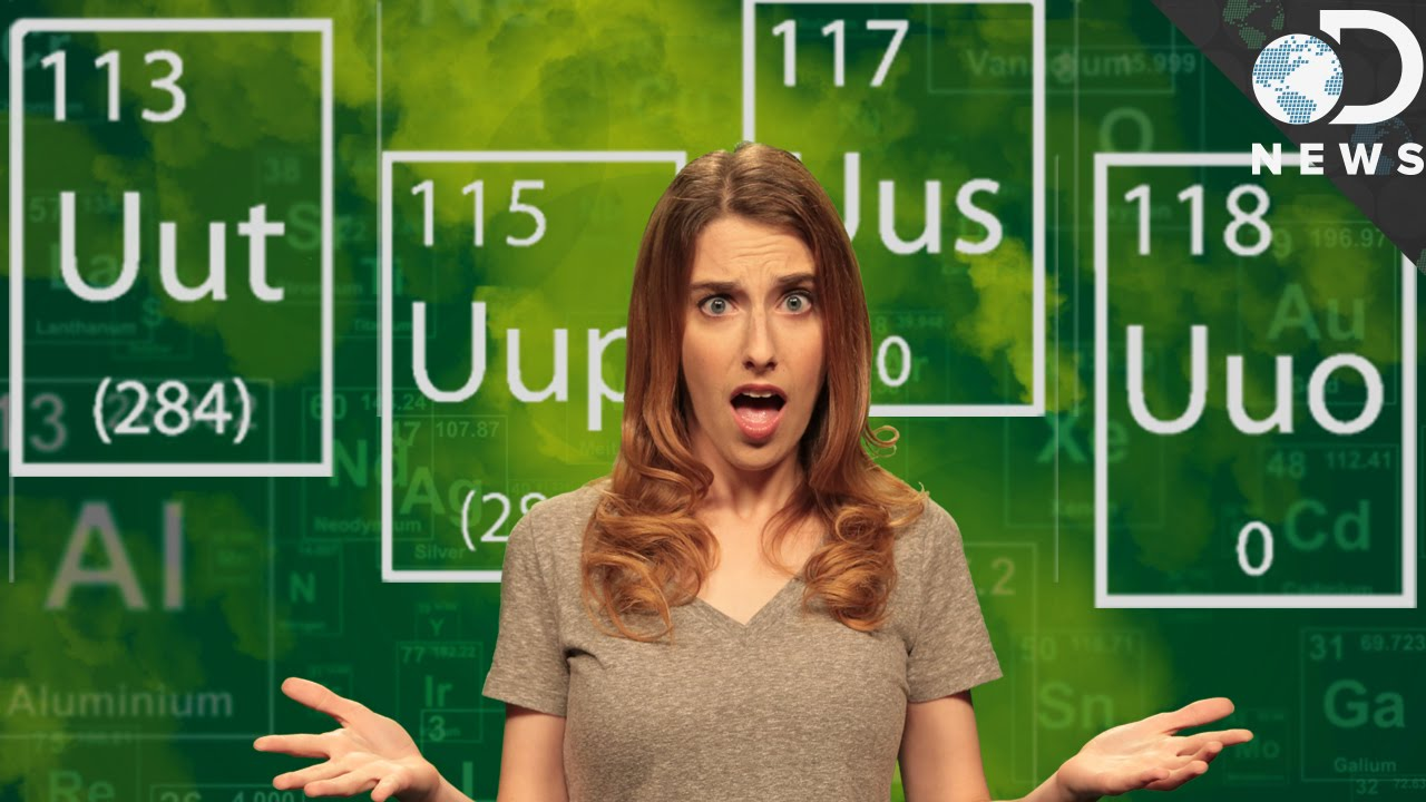 What are the four new elements on the periodic table youtube urtaz Images