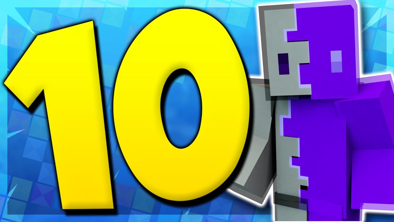 8 Transparent Minecraft Skins! (Top Minecraft Skins)
