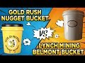 Gold Rush Nugget Bucket vs The Gold Cube (Part 1) The Lynch Mining 5 Gallon Challenge