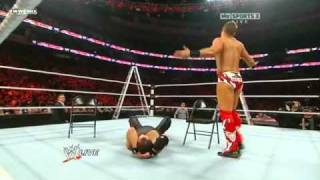 The Miz - fail neckbreaker
