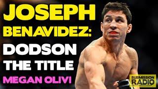Joseph Benavidez on not being a John Dodson fan, title shots, plays